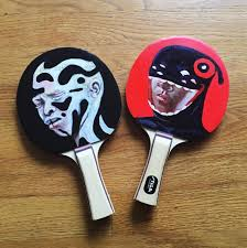 custom table tennis racket fast five with brandon breaux aiga chicago