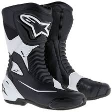 s boots uk alpinestars smx s boots black white free uk delivery