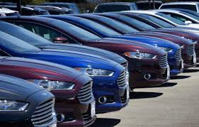 toyota car lot in a land dominated by toyota and honda ford and gm gain traction