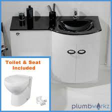 alaska freestanding white gloss basin vanity unit 600mm porter