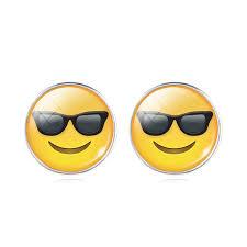cool stud earrings emoji stud earrings