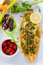 sole with lemon butter sauce