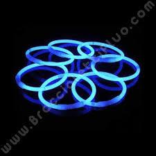 bicchieri fluorescenti braccialetti fluo monocolore