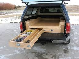 homemade truck bed best truck bed drawer design to make more space in your truck