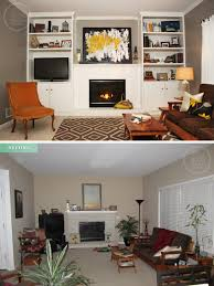 Livingroom Makeovers by Pretty Lil 39 Posies Living Room Makeover Before And After Neutral