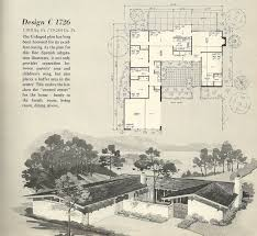 cheap floor plans for homes baby nursery mid century ranch home plans in vintage house plans
