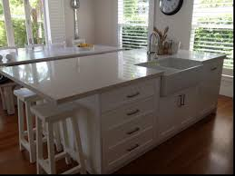 One Wall Kitchen Kitchen Island With Sink And Seating Magnificent Kitchen Ideas