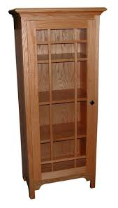 Elegant Bookcases Wood Bookcase With Doors White Solid Glass Adjustable Shelves