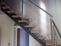 rambarde escalier design garde corps inox et acier en normandie toutes nos réalisations