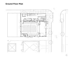 theatre floor plans gallery of rebirth of the york theatre henriquez partners