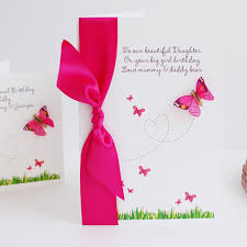 personalised 1st birthday cards for daughter