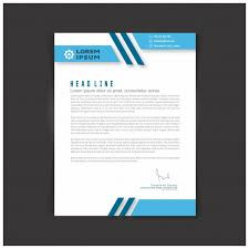 templates for a business letter editable business letter template vector free download