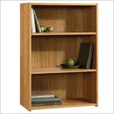 Sauder 3 Shelf Bookcase Cherry Barrister Bookcase Home Library Bookcase One Way Furniture