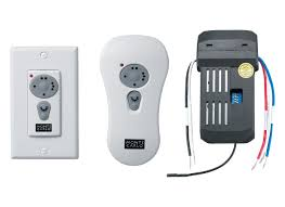 handheld fans ck250 wall held remote kit white