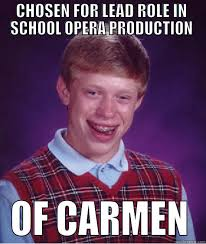 Carmen Meme - bad luck carmen quickmeme