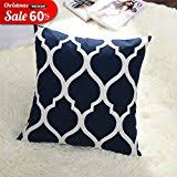 Navy Blue Decorative Pillows Amazon Com Blue Decorative Pillows Inserts U0026 Covers Bedding