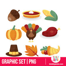 thanksgiving icons totallyjamie svg cut files graphic sets