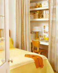 Home Office Curtains Ideas Home Office Ideas U2013 Small Working Closet Behind The Curtains