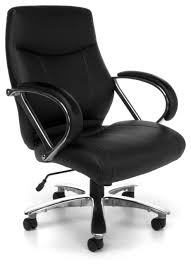 Big And Tall Office Chairs Zeus 500 lb Capacity Office Chair