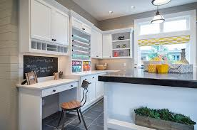 Kitchen Office Design Ideas Cool Combination Crafts Room Home Office Design Alan Mascord Dma