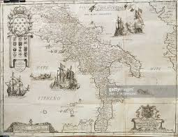 Map Of Naples Italy by Map Of The Kingdom Of Naples By Giovan Battista Pacichelli
