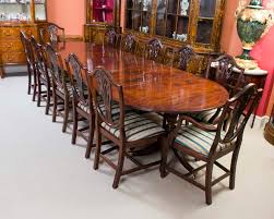 dining room table with 12 chairs a magnificent antique regency dining table and set of 12 chairs