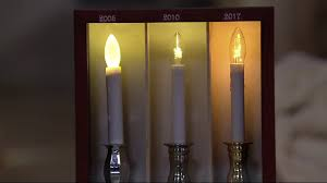 bethlehem lights set of 4 battery op slim base window candles on
