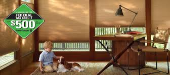tax credit for window treatments hunter douglas