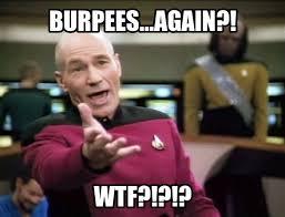 Burpees Meme - 20 relatable and funny burpees meme sayingimages com