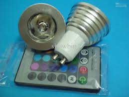 Rgb Led Light Bulb With Remote by Best Gu10 Rgb Led Magic Lighting Remote Control Change Lamp 3w 85
