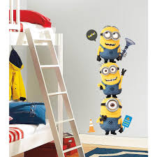 despicable 2 minions giant peel and stick giant wall decals