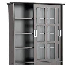 Multimedia Cabinet With Glass Doors Multimedia Storage Cabinet Multi Media Storage Cabinet With Glass