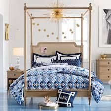 Pb Teen Bedrooms Colette Canopy Bed Pbteen