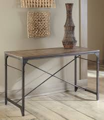 Rustic Sofa Table by Sofas Center Ashleyture T869 Alymere Rustic Brown Casual Sofa