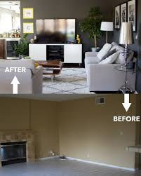 Home Design Before And After Living Room Renovation Before And After Living Room Remodels15