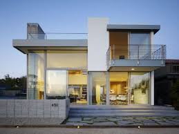 cream modern cad house that can be decor with white fence can add