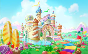 candyland castle the candyland castle at the end of the has the same colorful