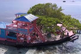 private island vacation rental bird island placencia belize