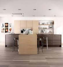 cuisine sol parquet parquet stratifié cuisine le bois chez vous