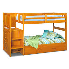 Columbia Bunk Bed Columbia Bunk Bed With Storage Stairs Ranger Trundle