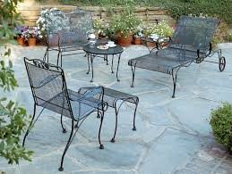 Black Wrought Iron Patio Furniture Sets Side Table Large Size Of Patio Outdoor Vintage Wrought Iron