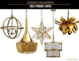 gold mini pendant light gorgeous decorating diary glamorous light fixtures the decorista in