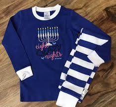 hanukkah apparel eight nights menorah pajamas 2017 hanukkah clothing