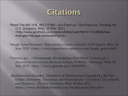 genetics research template