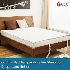 twin electric cooling mattress pad bed for better and deeper