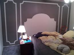 painted headboard how to paint a headboard on the wall interiors by kenz