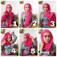 tutorial hijab simple tapi menarik shialatinos