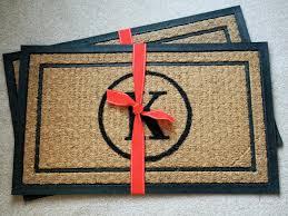 Unique Doormats Diy Monogrammed Doormat Hgtv