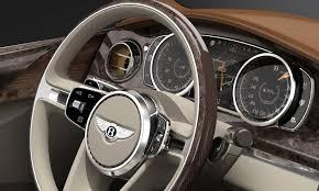 bentley steering wheel at night visual comparison bentley bentayga vs exp 9f concept w poll