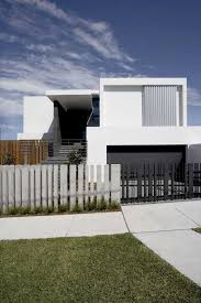 Modern House Design With Front Fence For Front Fence With - Home fences designs
